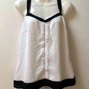 Jacob white sleeveless blouse